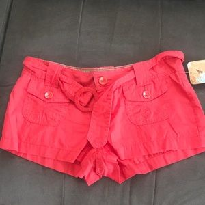 NWT coral UNIONBAY shorts